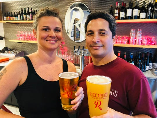 John and Alicea Acevedo are celebrating 20 years of Riccardo's next week with special beer offerings.
