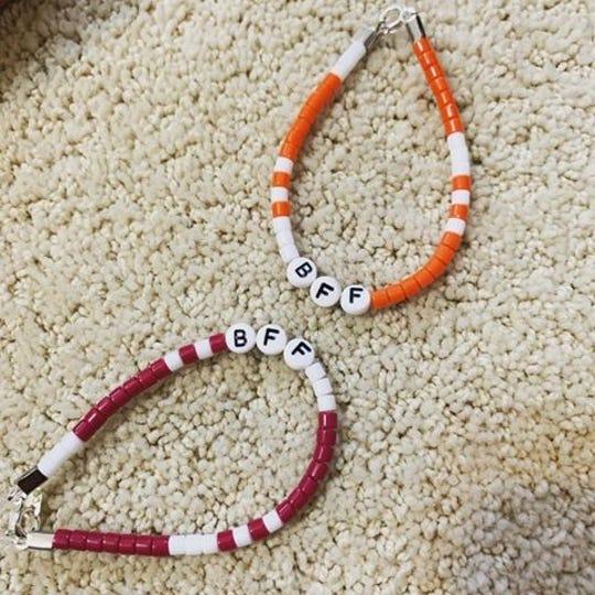 Bracelets made by Lila