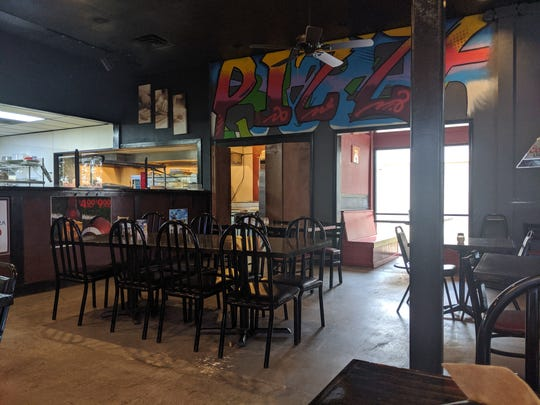 Inside Stone Oven Gourmet Pizza & Eatery.