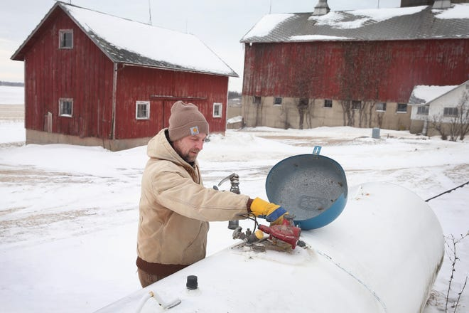 Cold temperatures and a late corn harvest has increased the demand for propane across Wisconsin spurring Gov. Tony Evers to sign an executive order declaring an energy emergency.
