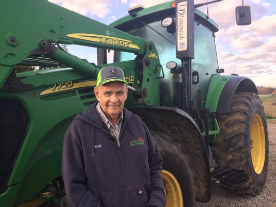 Buddy Myers of Duncan Falls farms the same ground he was born on and the same ground his parents and grandparents farmed.