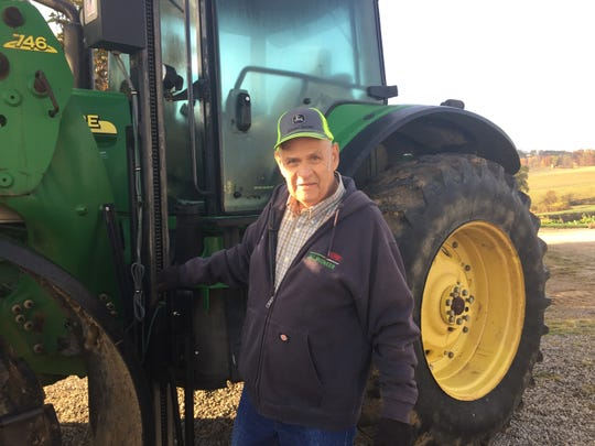 Thanks to a new lift on 78-year-old Buddy Myers' tractor, he is able to continue doing what he loves most - taking care of his family.