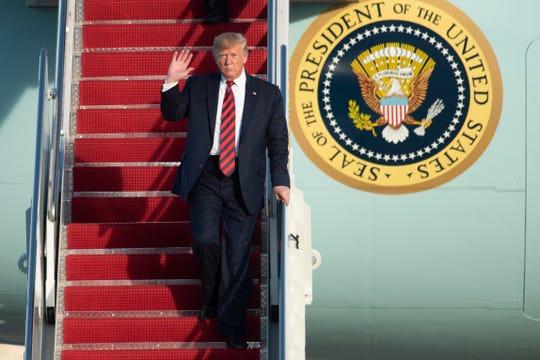 President Donald Trump on Oct. 28.