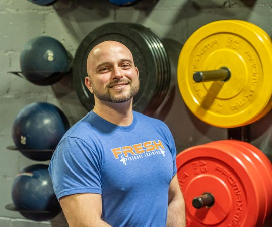 Rob Lantos owns Fresh Personal Training in Little Silver.