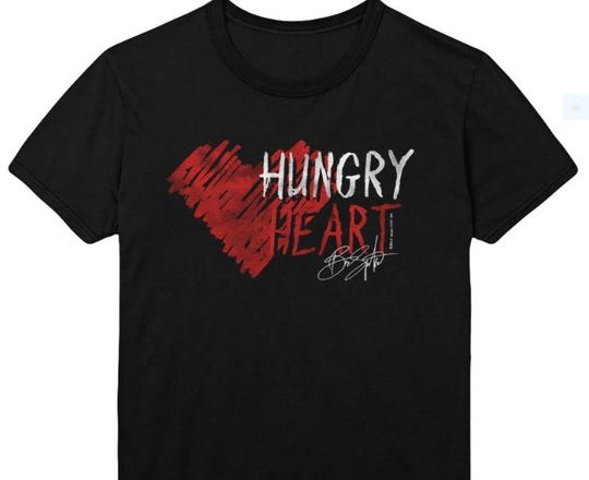 "The Bruce Springsteen ""Hungry Heart"" WhyHunger T-shirt."