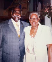 Pastor Harvey Riley and Johnnie Mae Riley