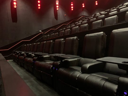Moviegoers can have food delivered to their recliner seats at an eight-screen AMC cinema opening Monday at Fashion District Philadelphia.