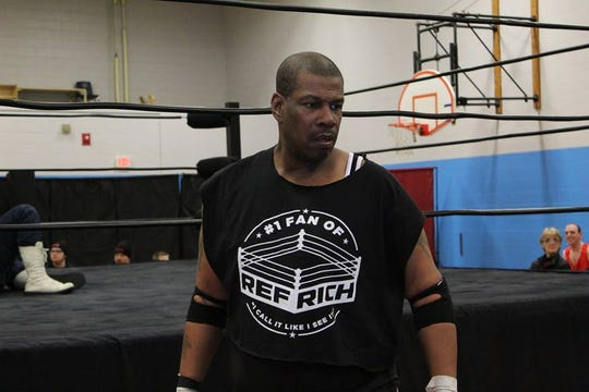 Reggie Fenwick, who goes by Ricci Starr in the ring, will host a pro wrestling show at Mastery Molina Lower Elementary School in North Camden to benefit afterschool enrichment programs.