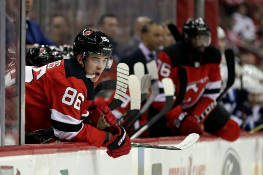Jack Hughes and the Devils end a six-game homestand against the Flyers Friday night.