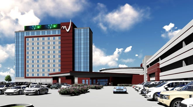 Miami Valley Gaming racino in Turtlecreek Township is planning to add a hotel and expand its gaming operations.