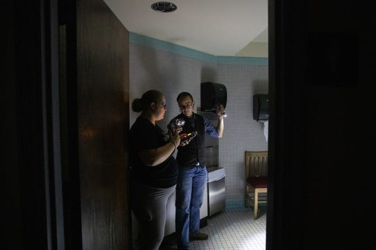Austin Peay graduate student Melissa Arrington and her team performed a ghost hunt during the summer at Harned Hall.