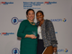 "Cristina Santos, Head of Inclusion and Diversity and the Equal Employment Opportunity Department, North America, with Trina Parks, executive vice president, Diversity and Inclusion, RWJBarnabas Health at the Robert Wood Johnson University Hospital Somerset PROUD Family Health in memory of transgender activist Barbra ""Babs"" Casbar Siperstein on Oct. 30. Sanofi received the Babs Siperstein Corporate Pride Award at the event."