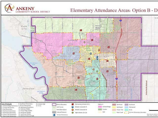 Ankeny School District delays vote on boundaries for new school