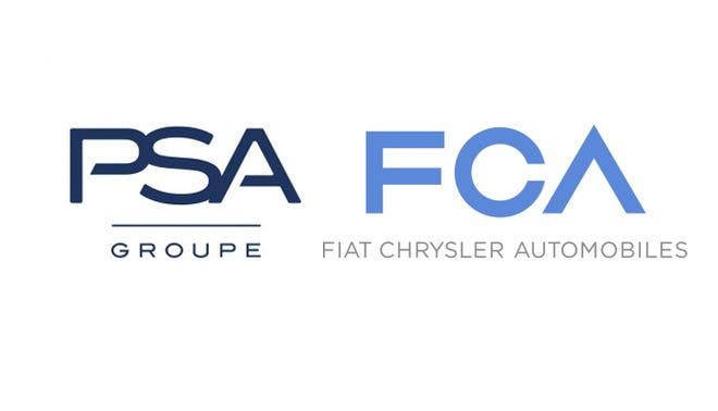 FCA and PSA Groupe agree to a merger.