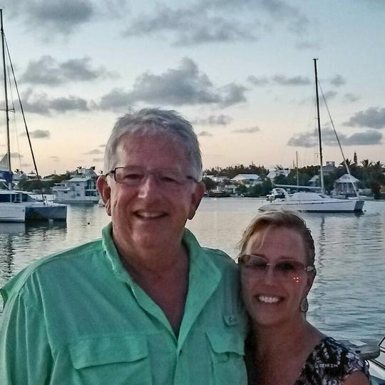 Craig and Theresa Felt of Memphis, Michigan work in machine repair at the Romeo Engine Plant, which is scheduled for closure now. This photo was taken in 2016 in the Abaco Islands, Bahamas.