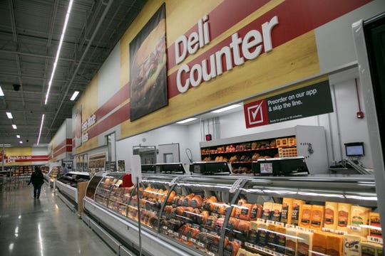BJ's Wholesale is opening it's first Michigan store in Madison Heights in the former location of Kmart. Known for selling locally made items and having a deli the Free Press gets a sneak peek Wednesday, Oct 30, 2019.