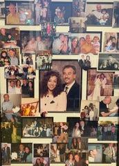 Tribute photos of Karim Khamarko still hang in the Southfield family's home.