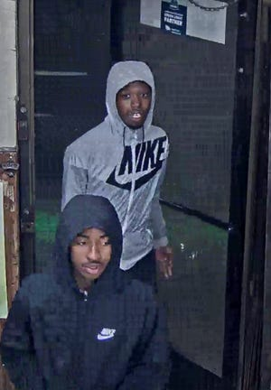Detroit police are asking the public for help to find two suspects who carjacked and shot a man last week Friday at a gas station on Dexter Avenue.
