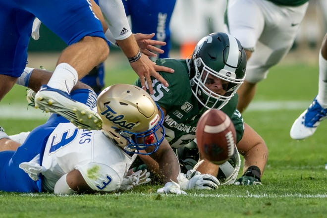 Michigan State linebacker Joe Bachie has been suspended.