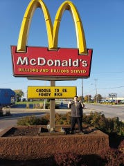 McDonald's restaurant on South Military Road is on board with the community's Fondy Nice movement
