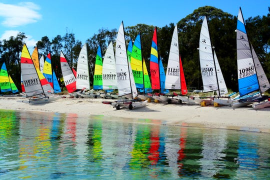 The Hobie 16 World Championship will take place off Captiva Island from Nov. 1-16.
