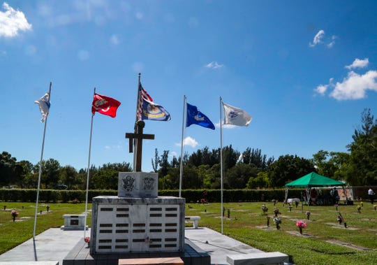 Martin Posnansky, a Vietnam vet, died in 2006 and never had a headstone because he had no family. His best friend, Bert Seidman, Fort Myers, tried for years to get a headstone placed. Through the Cape Coral group, Hearts for Homes, Posnansky got a headstone. They dedicated it at a ceremony, Thursday, October 31, 2019, at Coral Ridge Cemetery in Cape Coral.