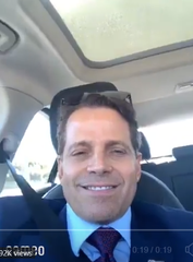 Anthony Scaramucci delivers his pep talk for Gov. Steve Bullock.