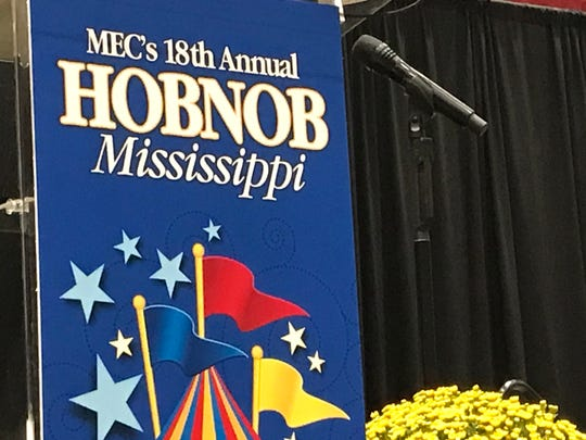 Candidates make final pitch to business leaders at Hobnob event on Thursday, Oct. 31, 2019.