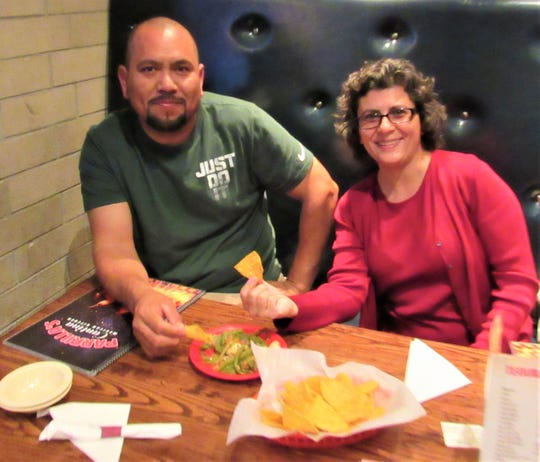 "Enrique Morales and Ana Thompson had been longtime customers of La Parrilla's in Turkey Creek, so when the restaurant moved to Renaissance and became Parrilla's Cantina, they followed. ""It's a little farther from home, but we come for the food,"" Thompson said."