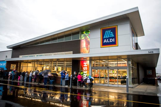 Aldi's opened its newest store at 5416 Millertown Pike in Knoxville on Thursday, Oct. 31, 2019.