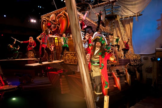 Dolly Parton's Pirates Voyage Dinner and Show will present a Christmas show with Captain Scrooge.