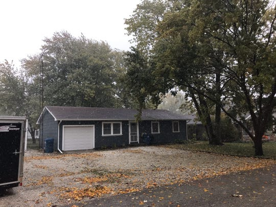Indiana State Police say a woman was found dead with a reticulated python wrapped around her neck in this house in the 600 block of North Dan Patch Drive in Oxford on Wednesday, Oct. 30, 2019.