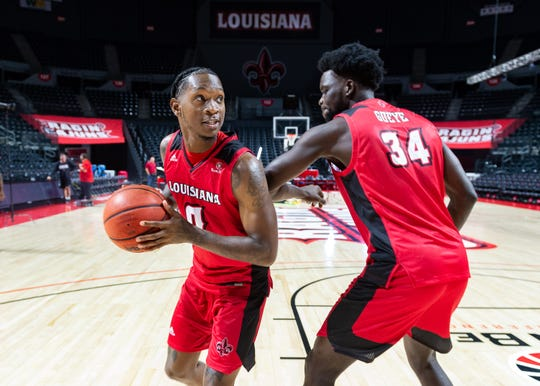 Cedric Russell (left) and Dou Gueye (right) both are slated to return for UL in 2020-21.