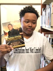 "Charleston Terrance Neal Jr., 19, has written a book entitled ""Changing to Charleston: Limitations But Not Limited."""
