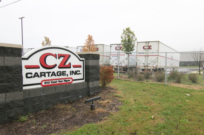 Asahi Kasei, which is just west of CZ Cartage, shown Thursday, Oct. 31, 2019, is gearing up to purchase the property at 810 East Van Riper Road in Fowlerville.