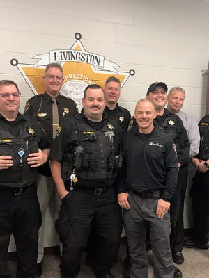 Members of the Livingston County Sheriff's Office are participating in No-Shave November to raise money for charity.