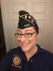 Michele Varner is a U.S.Navy veteran.
