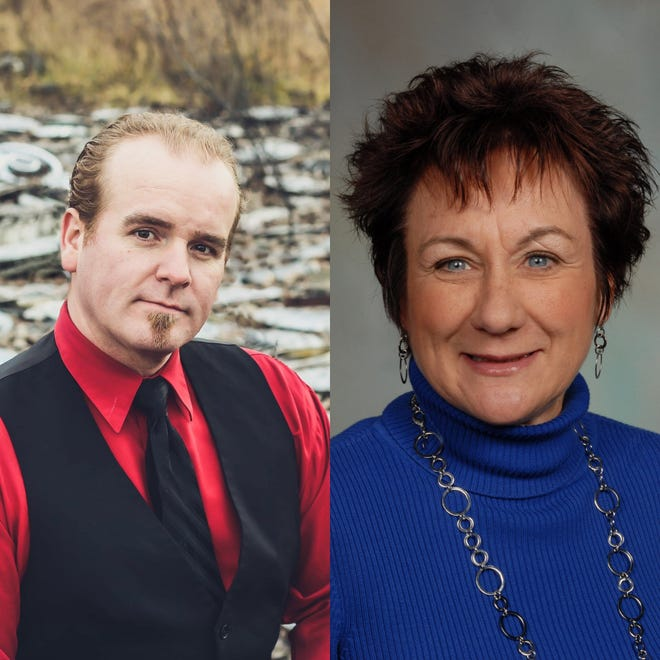 John Jones and Linda Horning Pitt are facing off against one another to be the next mayor of Crestline.