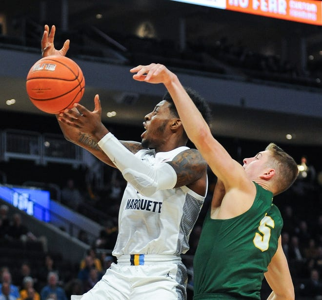 Sacar Anim's slashing ability could be a key for Marquette's offense this season.
