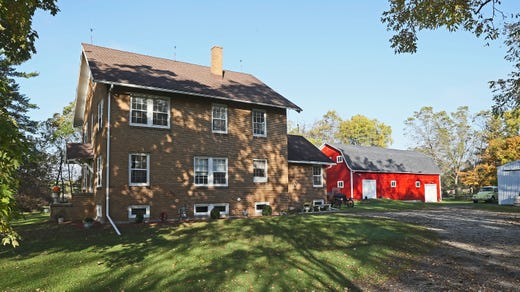 Farmhouse she fully restored displays owner's vintage collections in a cozy, quiet setting