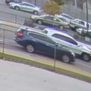 Milwaukee police want to speak with the occupants of this vehicle, which also may have been struck by the hit-and-run driver who killed two children and injured a third.