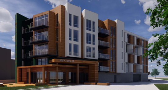 The Watertown's design was revised to move the apartments further from Sanctuary Woods.