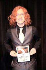 Region 6 AAA 2018 Super Region Team Most Valuable Kicker – Skyler Wilson, Fairview High School.