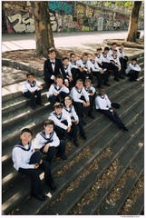 The Vienna Boys Choir with conductor Manuel Huber. The choir performs at Trevecca Community Church at 7 p.m. on Sunday.