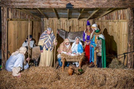 Metro Baptist Church is having a Living Nativity from 6:30-8:30 p.m. on Dec. 13, 14, and 15.