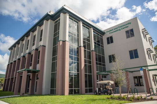 Florida Gulf Coast University reveals its new Student and Community Counseling Building on Wednesday, October 30, 2019, in Estero.