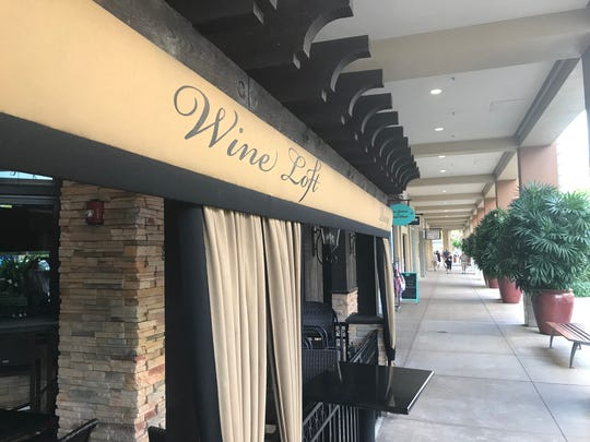 The Wine Loft at the Mercato abruptly closed this week. Owners left a note on their door.