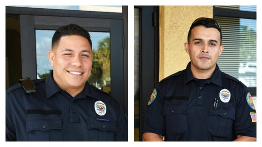 A supervisor recommended two Marco Island police officers be separated for officer safety and to avoid further altercations.