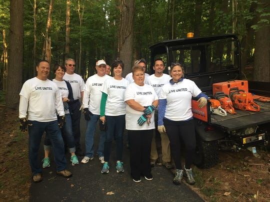 Employees from Matesich Distributing were one of several groups to participate in the 2019 Licking County River Round Up, which focuses on removing trash and debris from the Licking River.
