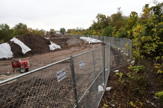 Homeless people who were living at Dundee Island Park had to move during the late summer as construction started in the Passaic park. Most of them moved to adjacent land, less than 100 meters away where overgrown foliage has overtaken abandon train tracks.  Wednesday, October 30, 2019